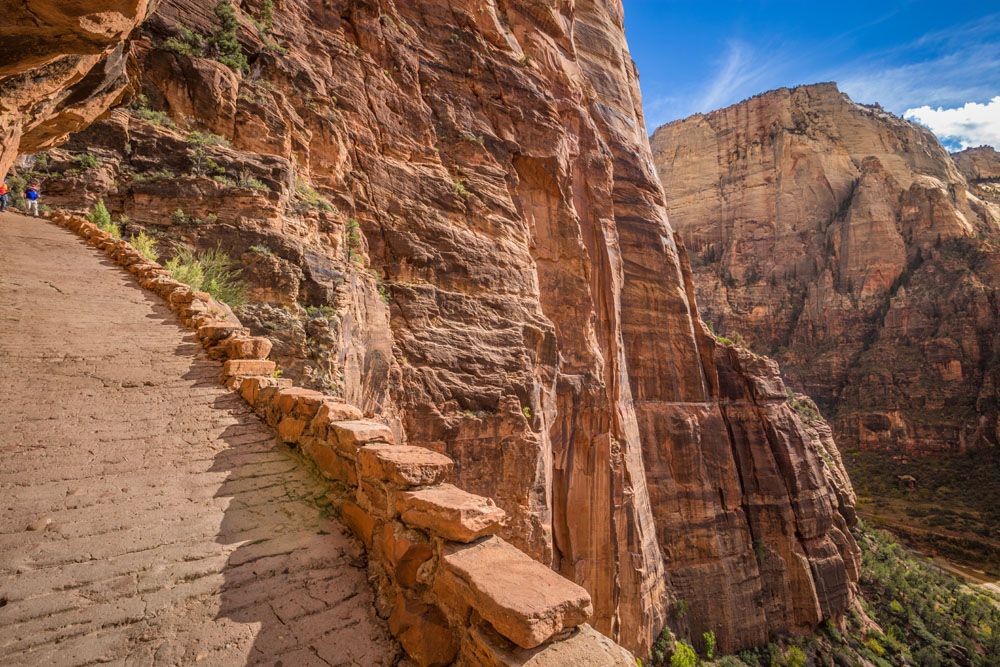 angels landing paved trail