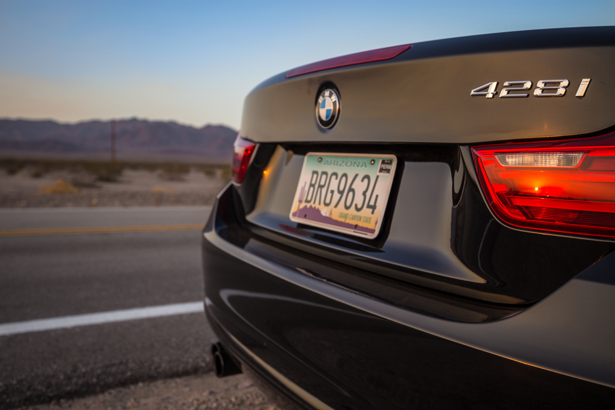 bmw route66 sunset
