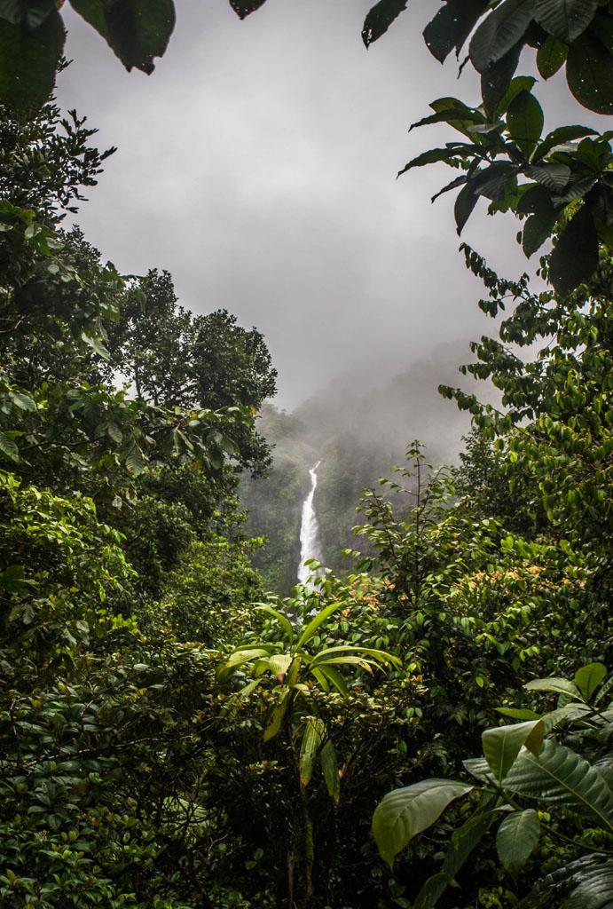 chutes de carbet falls in guadeloupe photos