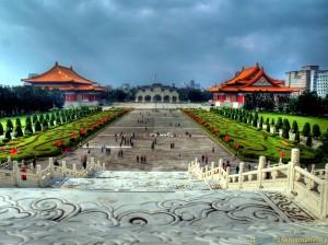 chiang kei shek memorial hdr photo
