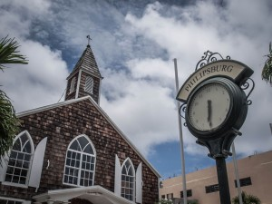antique clock in philipsburg on st.maarten photos
