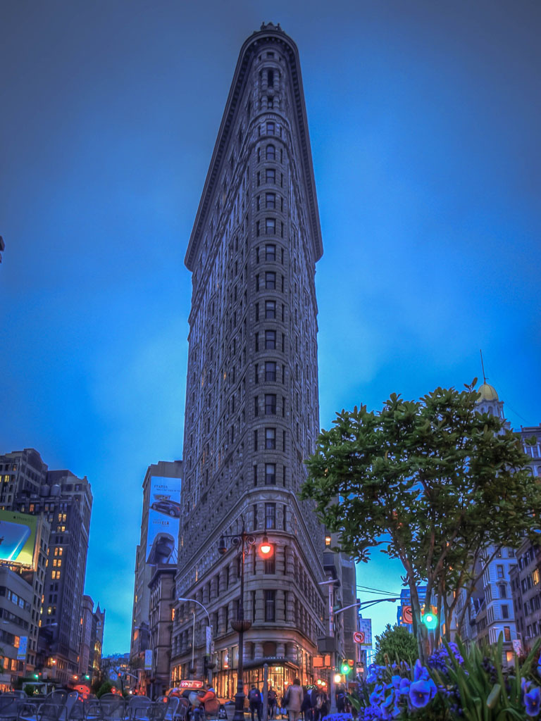 HDR Photograph of Flatiron Building