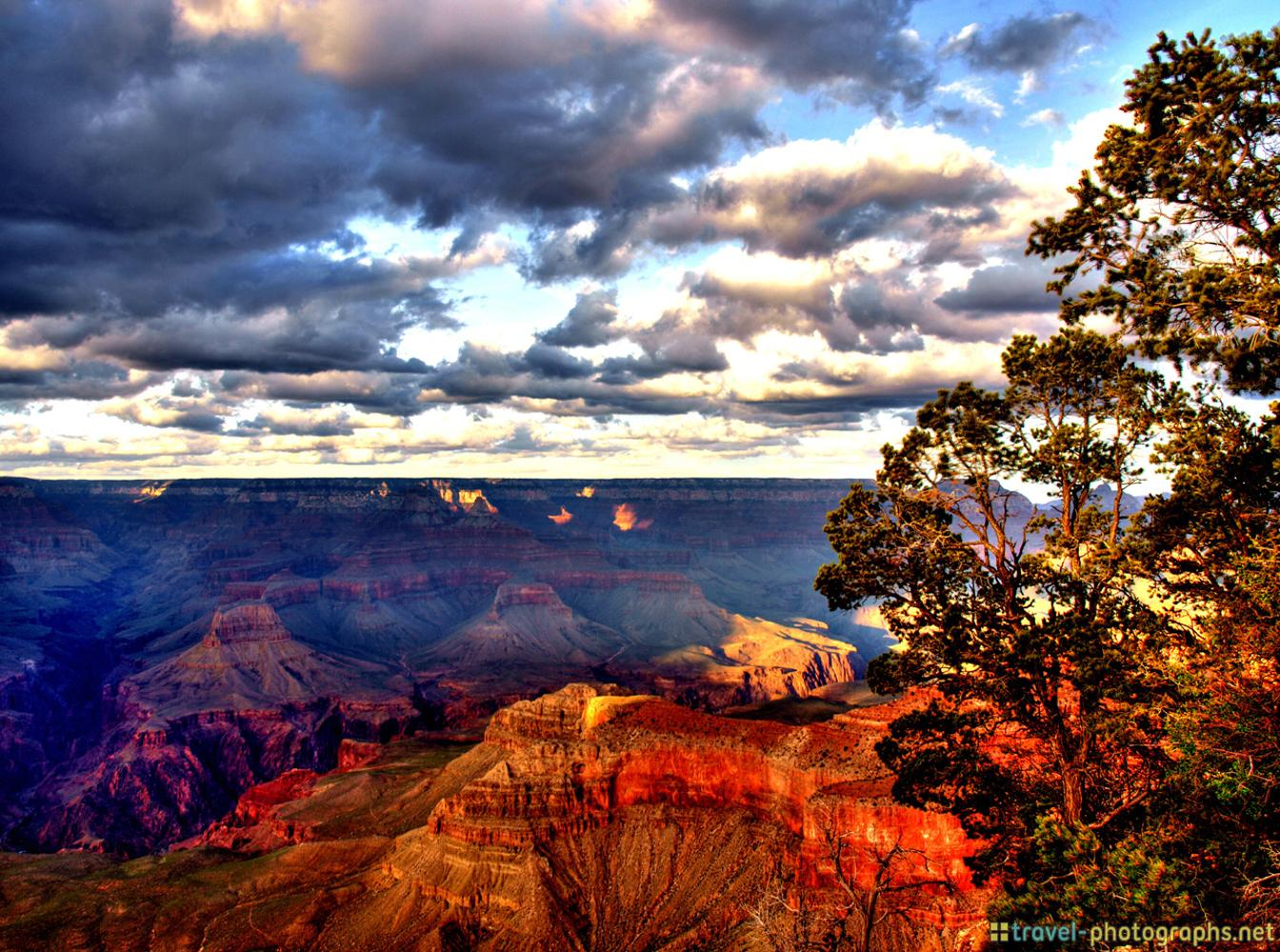 Grand Canyon Photos Hdr Colors Travel Photographs