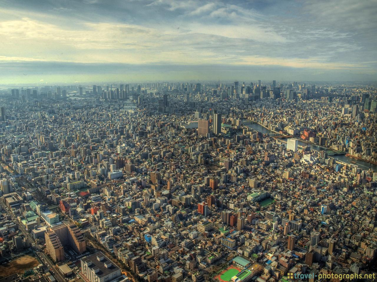 hdr-view-of-tokyo-photos