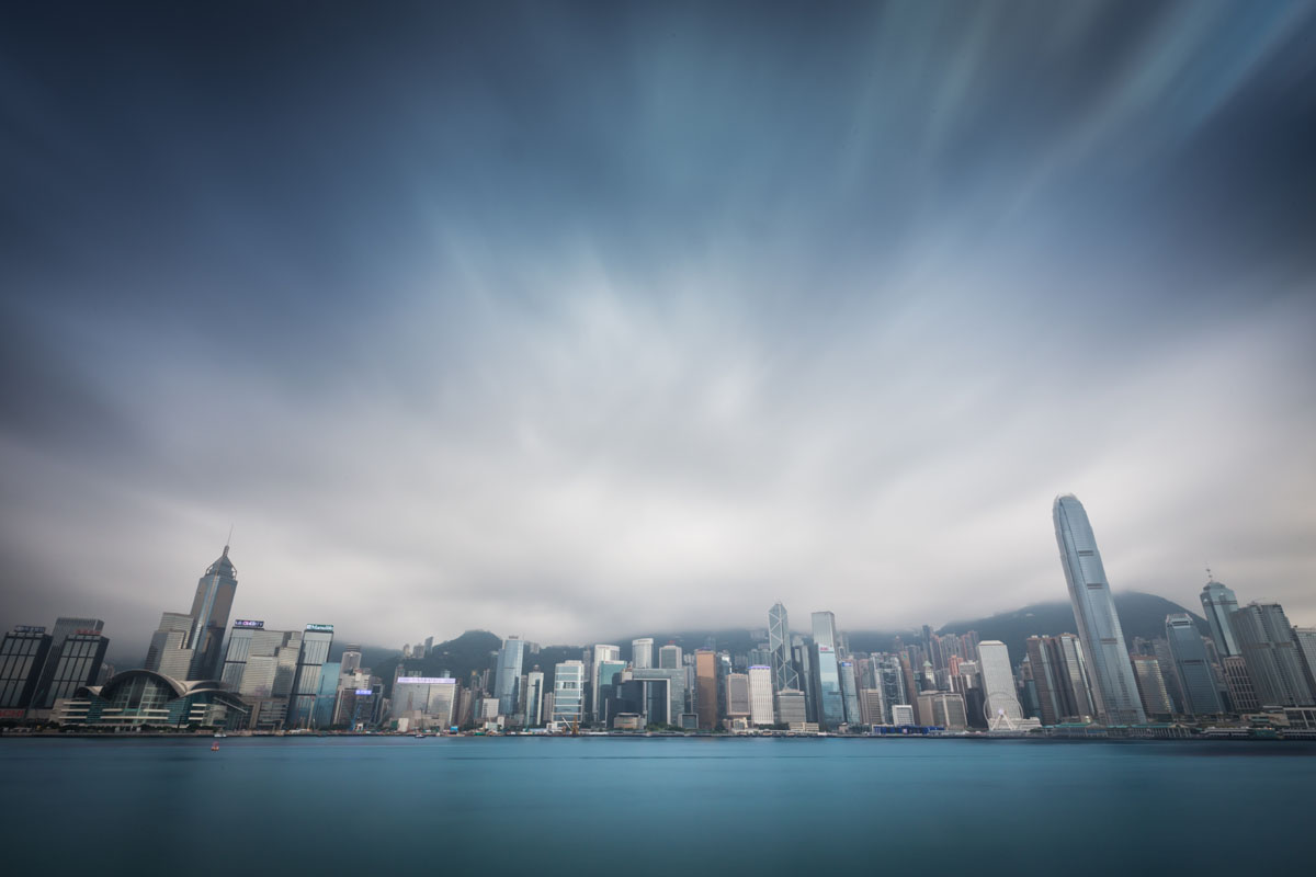 hong kong filter skyline