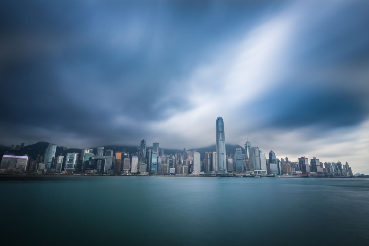 hong kong sky exposure