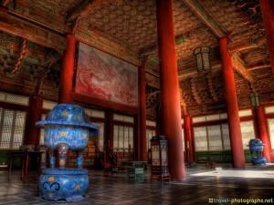 south korea photos of gyeongbokgung temple