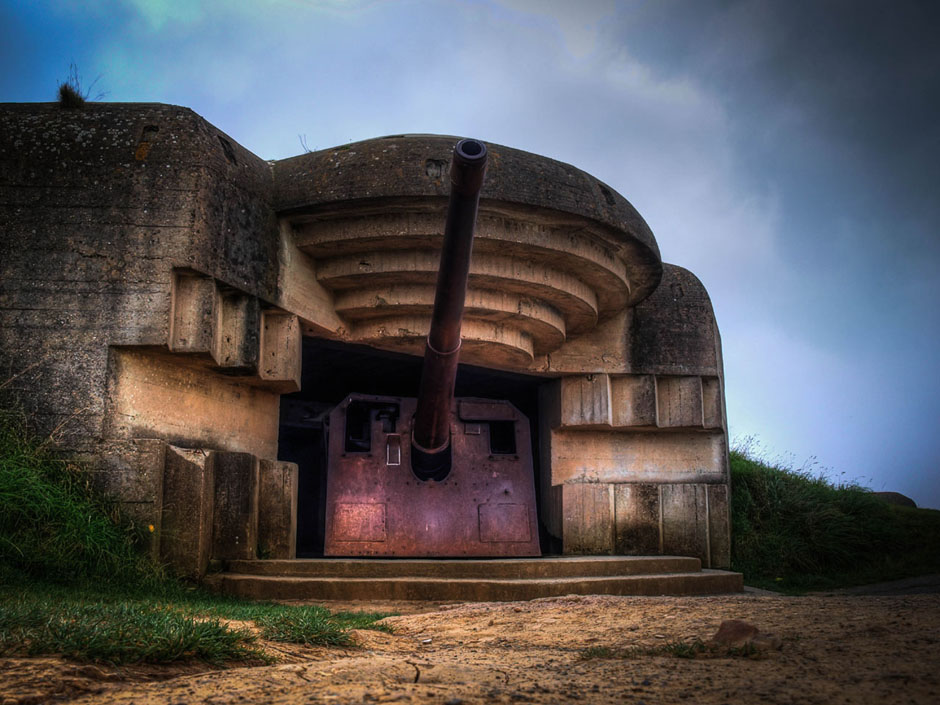 longues sur mer battery german