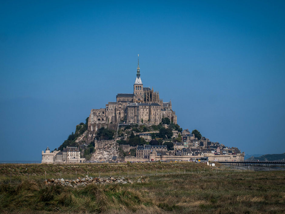 mont st michel photograph france