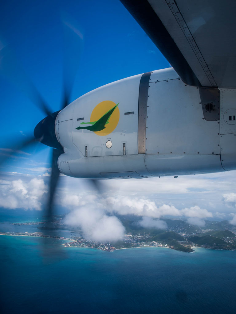 propeller-over-caribbean-sea
