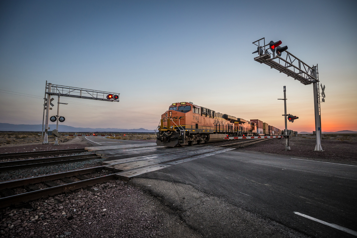 route 66 railroad crossing