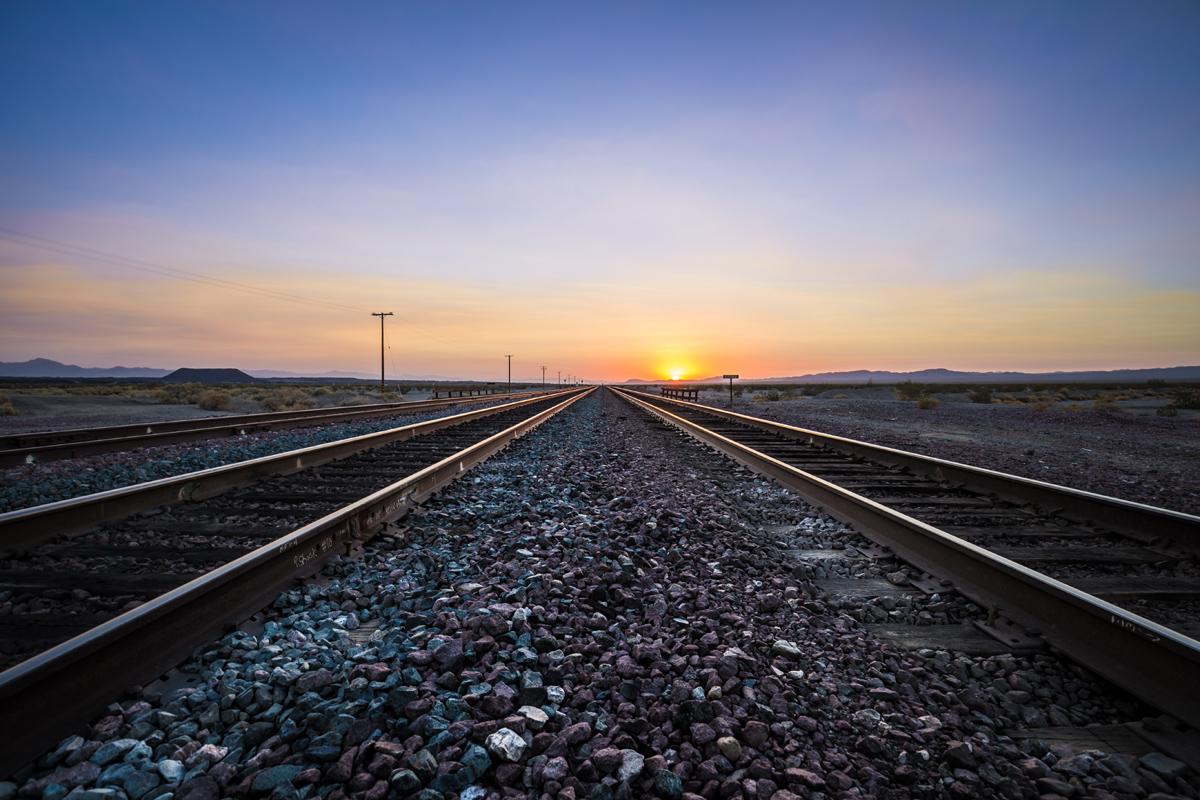 route 66 railway tracks