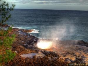 spouting-horn-kauai-hawaii-hdr