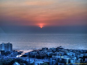 sunset-mumbai-india-hdr