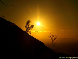 sunset-on-mountain-newcastle-australia