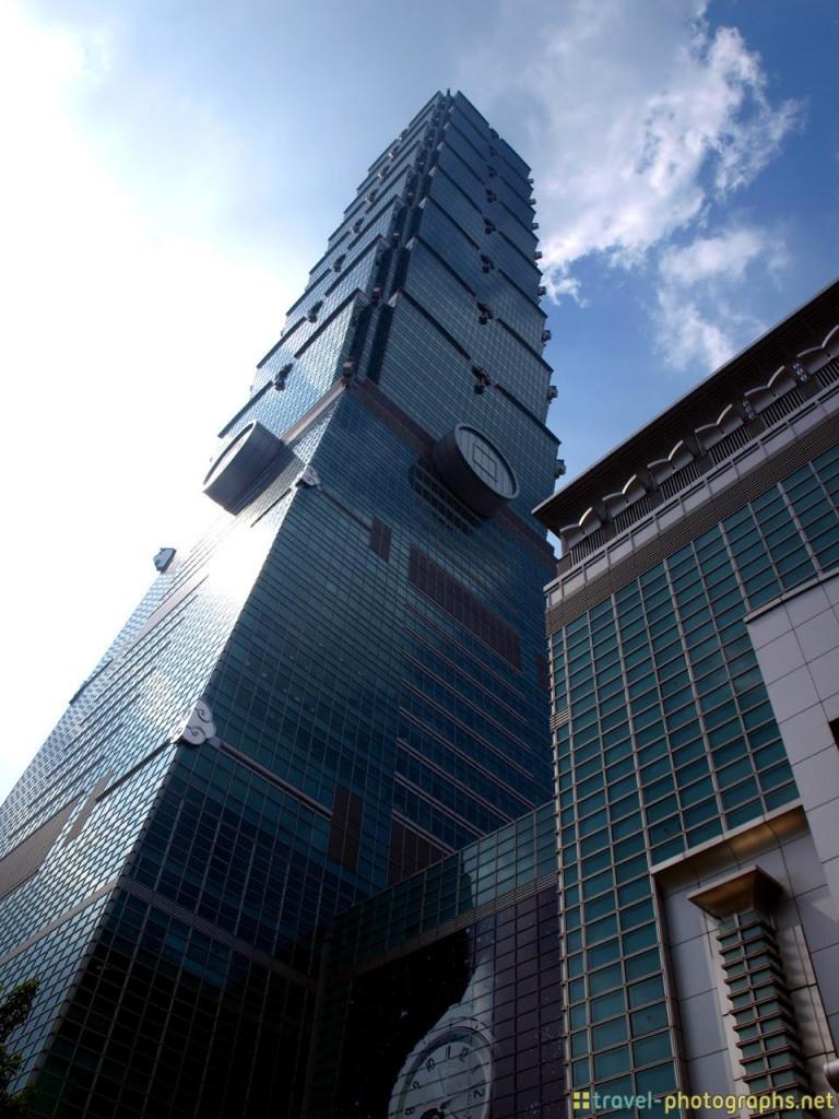 taipei 101 skyscraper taiwan