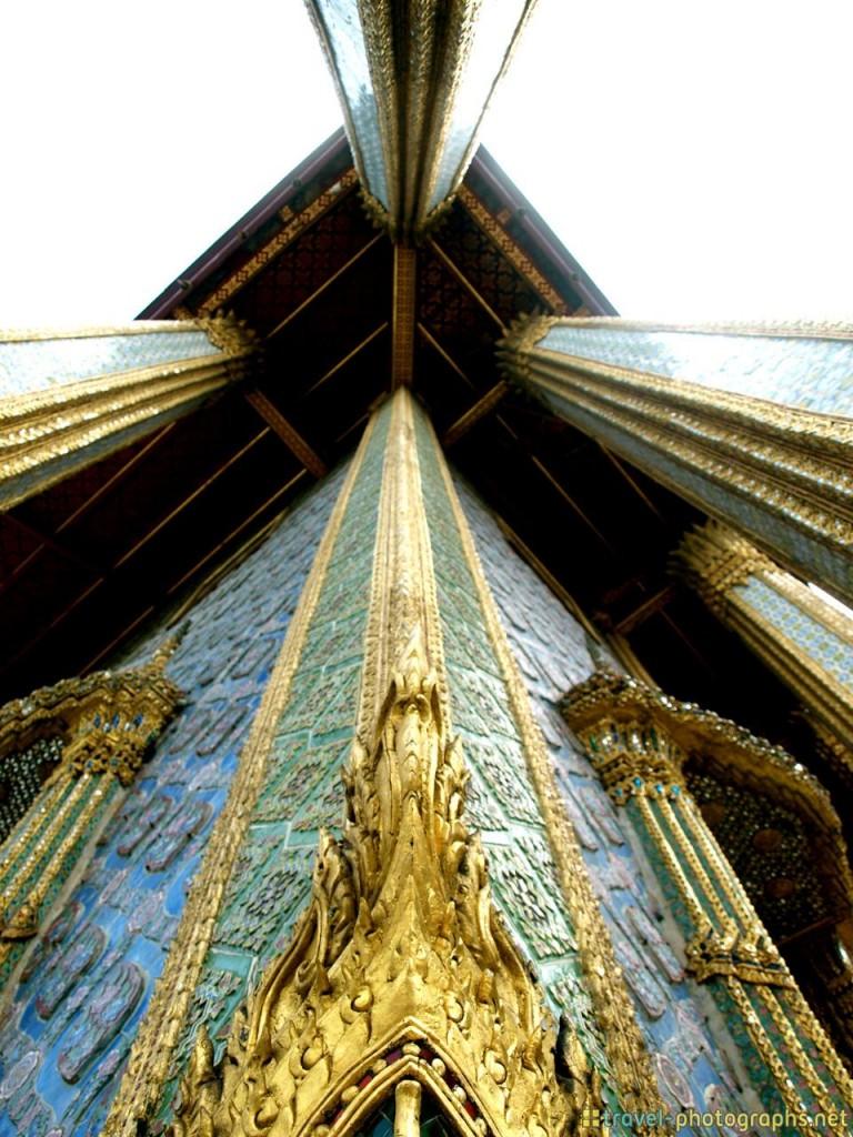 Bangkok Palace architecture of temple