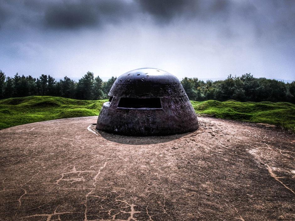 verdun foxhole bunker mg stand