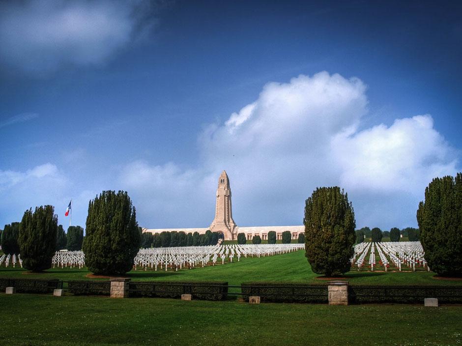 verdun graveyard photograph