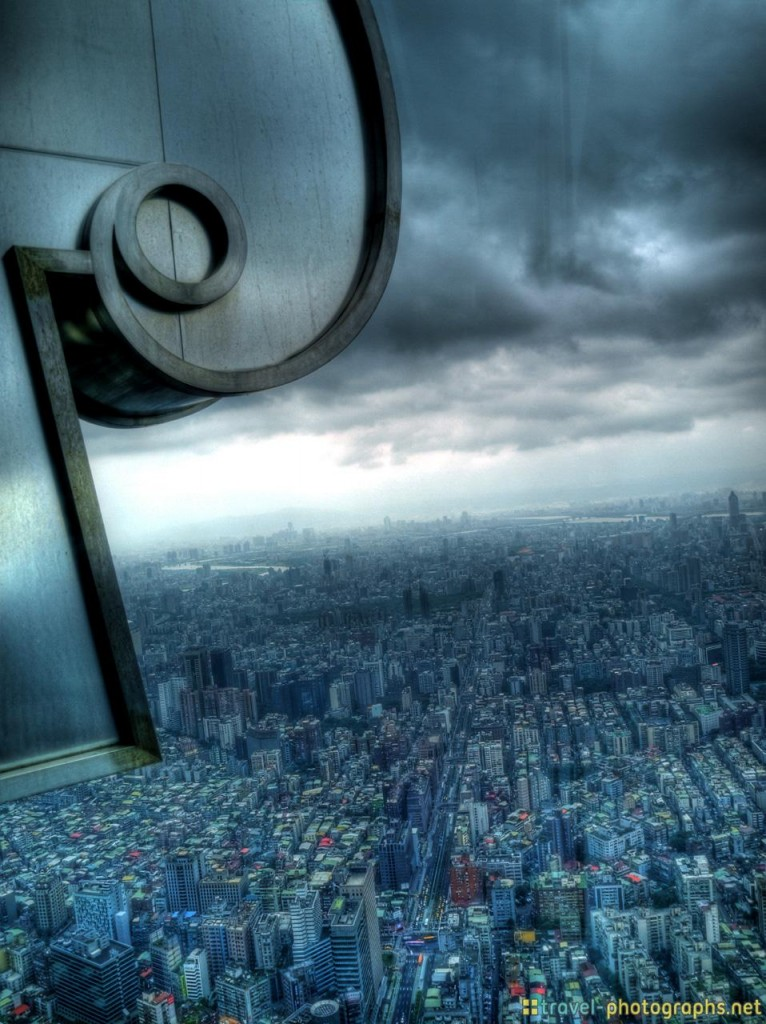 HDR Photo of Taipei101 Outlook