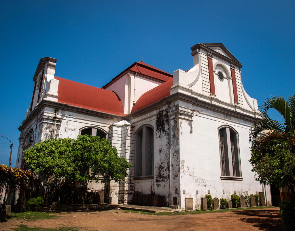 wolvendaal christian church at colombo